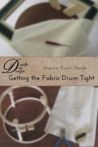 Getting the Fabric Drum Tight