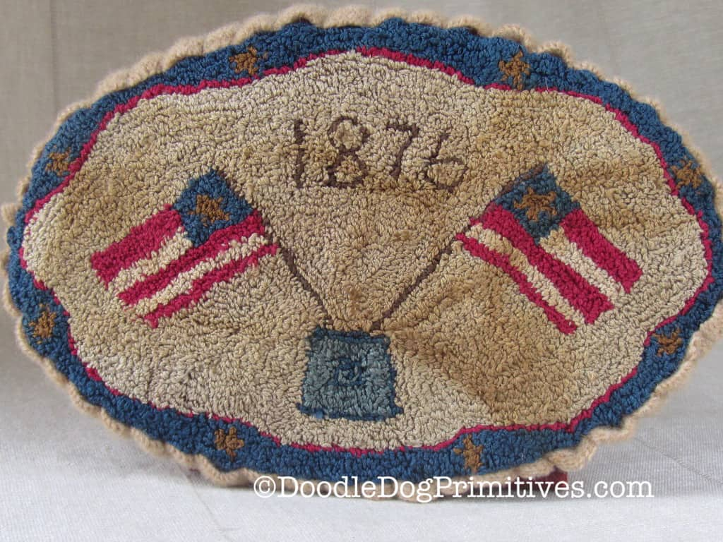 Americana Flag Table Mat