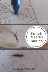 Punch Needle Basics