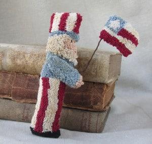 Uncle Sam bowl filler