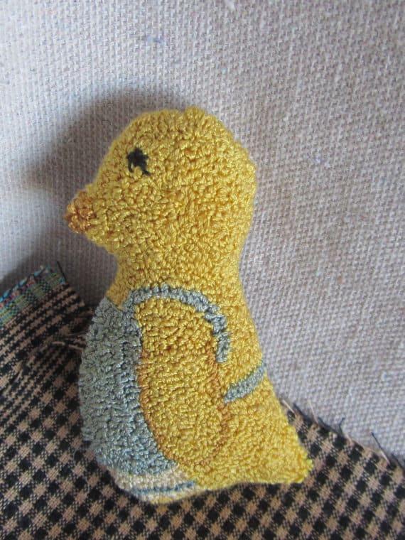 Mama Chick Needle Punch Pattern