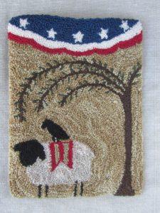 Freedom Sheep PunchNeedle