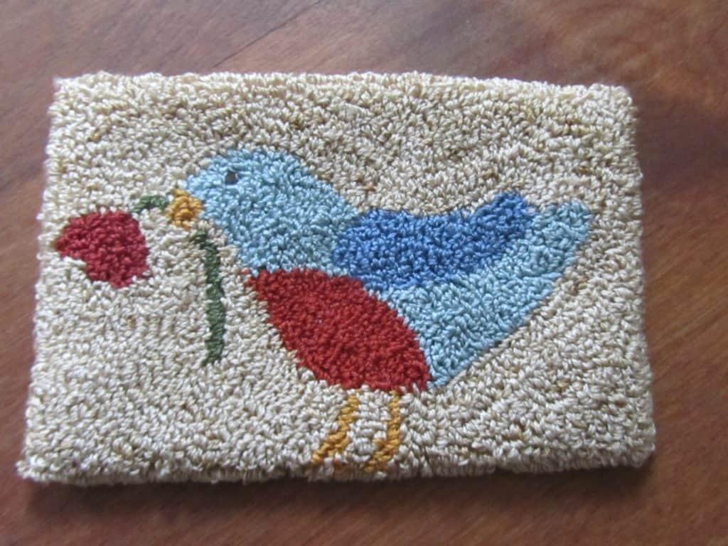 Blue Bird Needle Punch Free Pattern - DoodleDog Designs ...