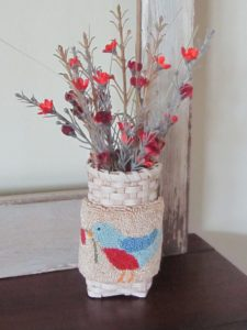 Punch Needle Basket