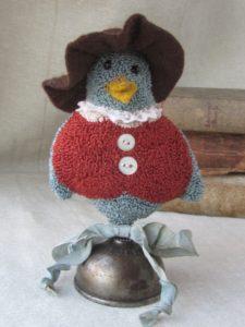 Blue bird make-do
