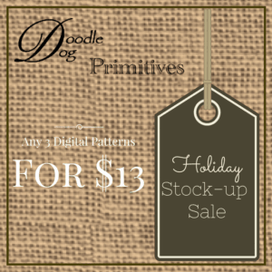 Holiday Stock-up Sale