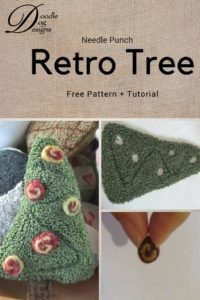 Retro Christmas Tree Free Pattern