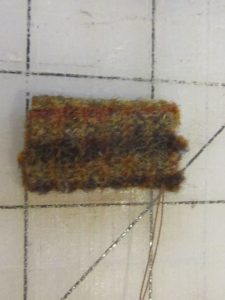 Folded Wool for Trunk