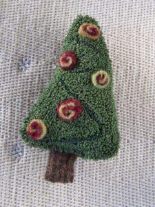 Retro Needle Punch Tree