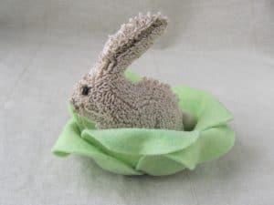 Hide & Seek Needle Punch Bunny