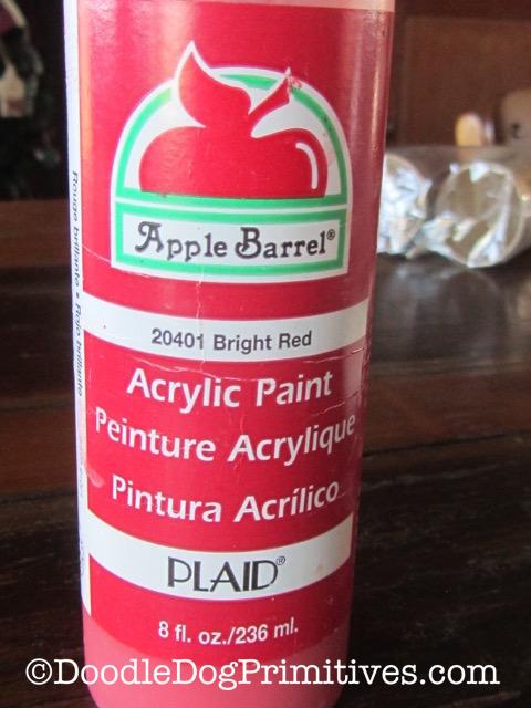 Apple Barrel Paint