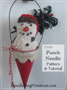 Snow-Cone Tutorial and Free Pattern