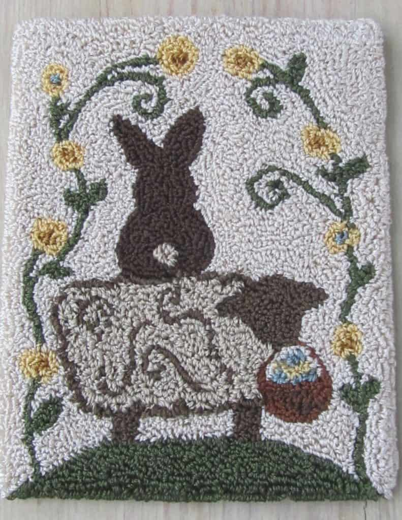 Easter Delivery Punch Needle Pattern