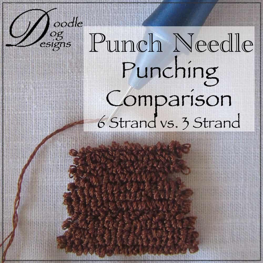 Comparison of 3 strand vs 6 strand