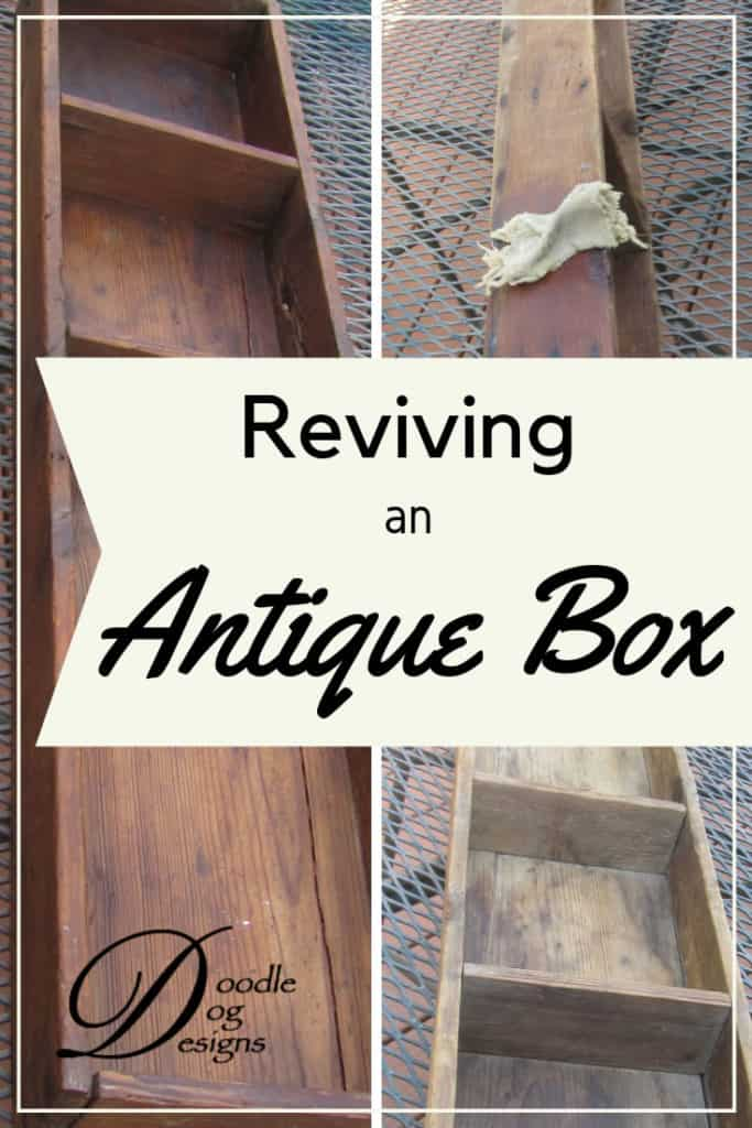 Reviving an old wooden box