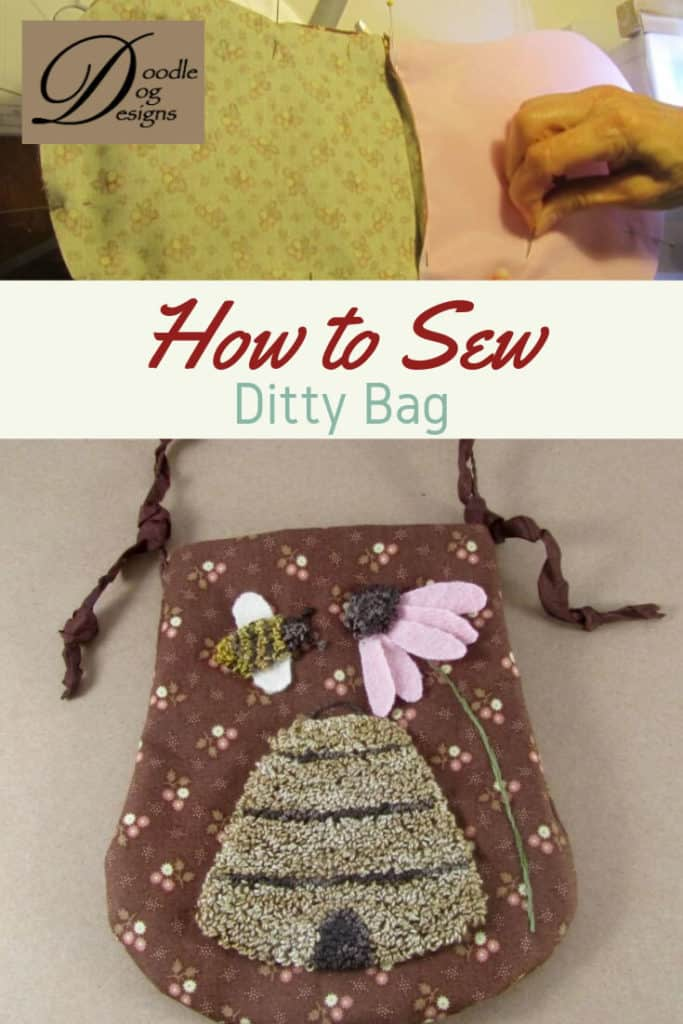 How to Sew a Ditty Bag