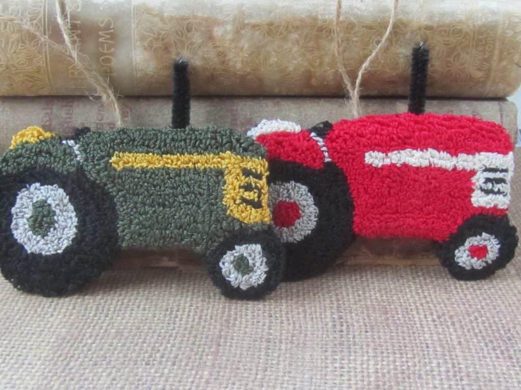 Punch Needle Tractors