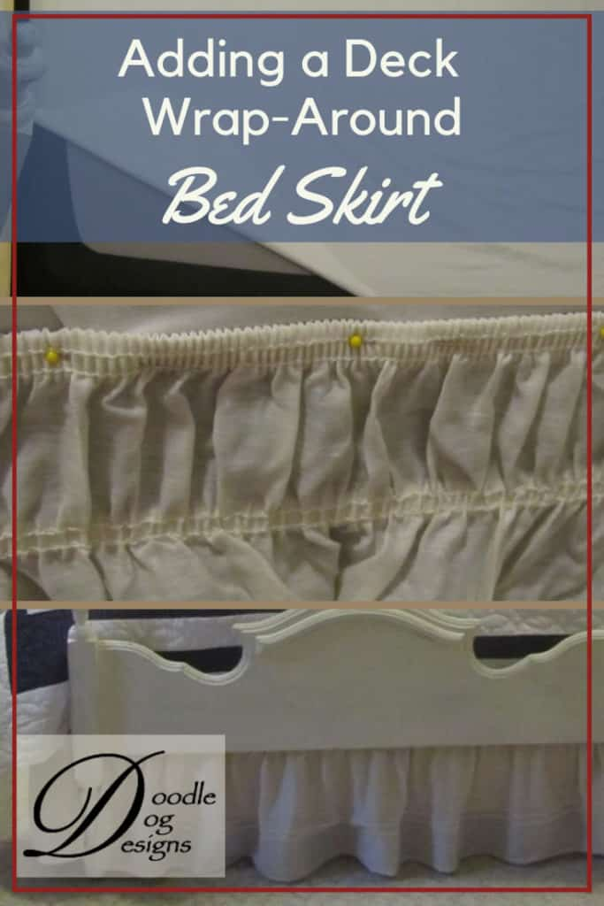 Adding a Deck to a Wrap Around Bed Skirt