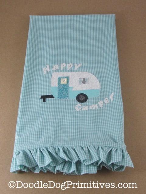 Ruffled Tea Towel