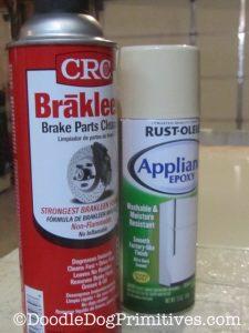 Appliance Epoxy & Brake Cleaner