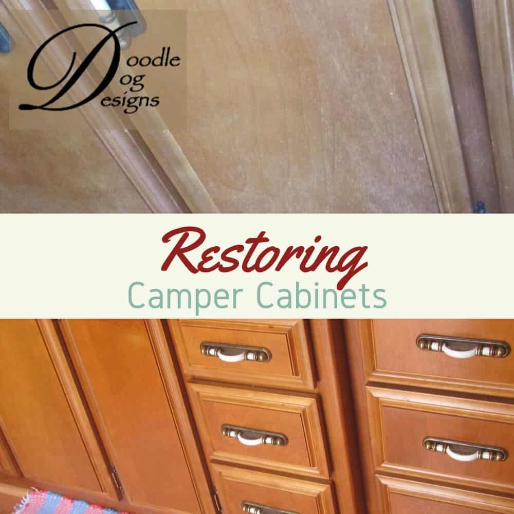 Restoring our vintage camper's cabinets