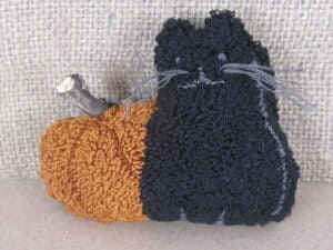 Boo to You Punch Needle Pattern