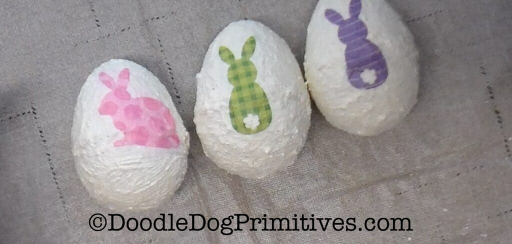 Easter eggs with designs