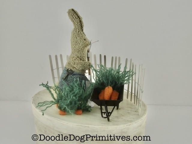carrot garden scene
