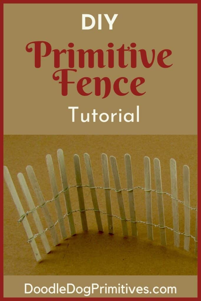 Primitive Fence Tutorial