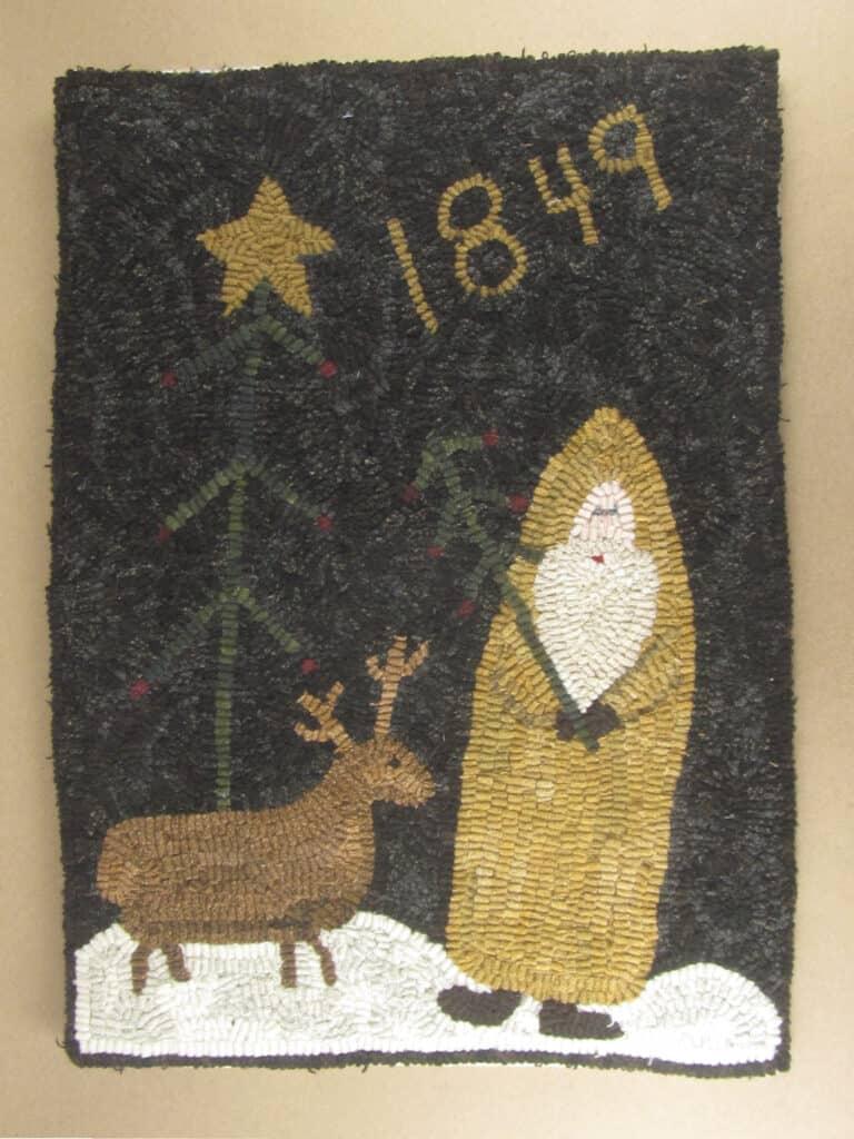 Saint Nicholas Rug Hooking Pattern