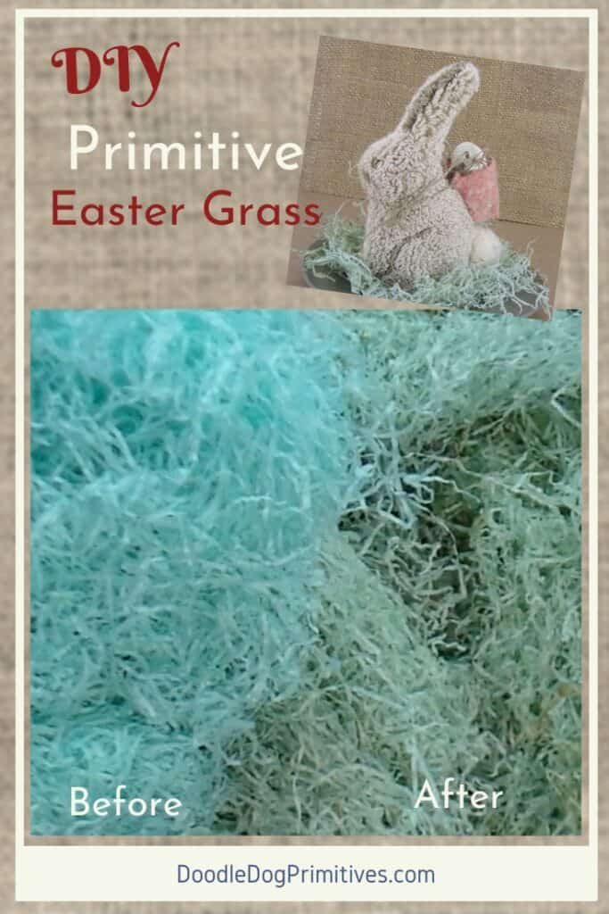 How to Age Easter Grass