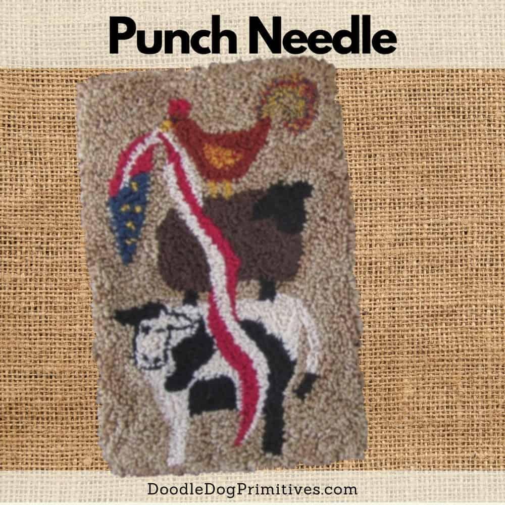 animal stack punch needle