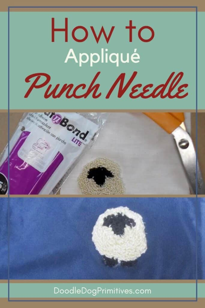 Appliqué Punch Needle Projects