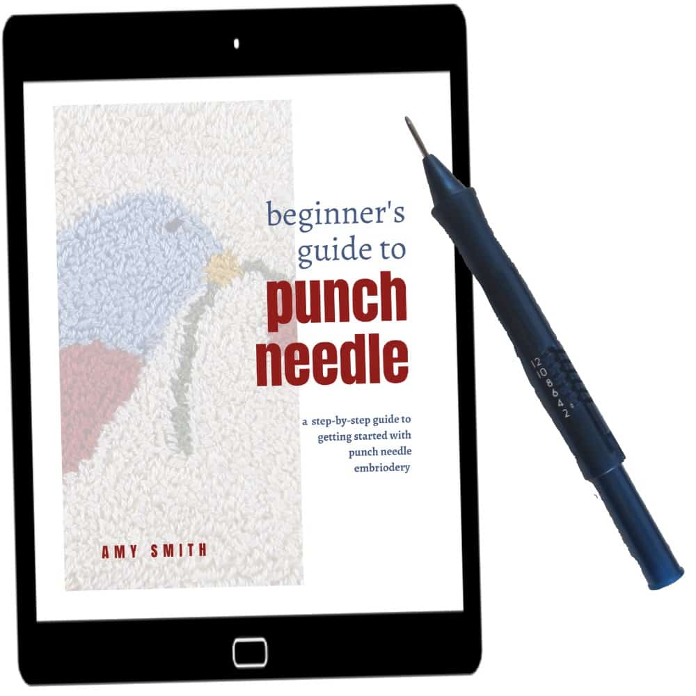Beginner's Guide to Punch Needle Embroidery