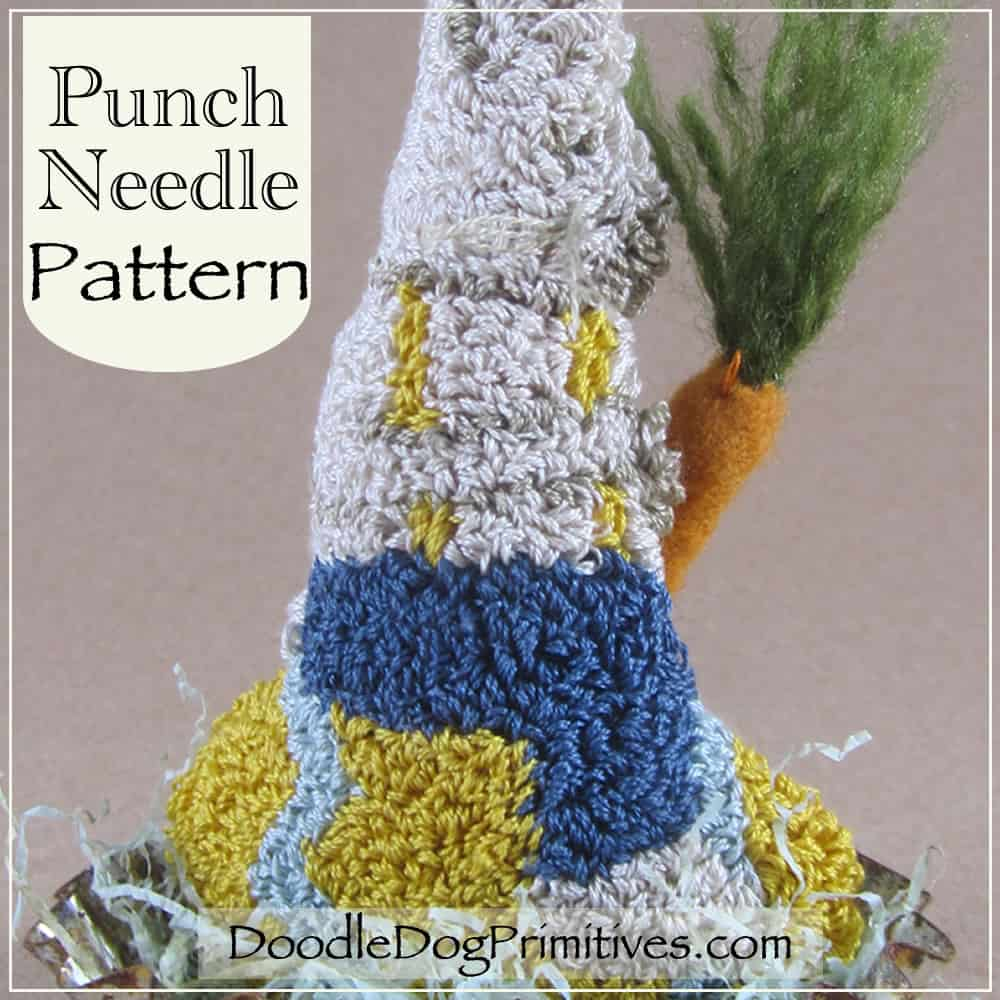 Easter Greetings Punch Needle Pattern