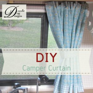 DIY Camper Curtain