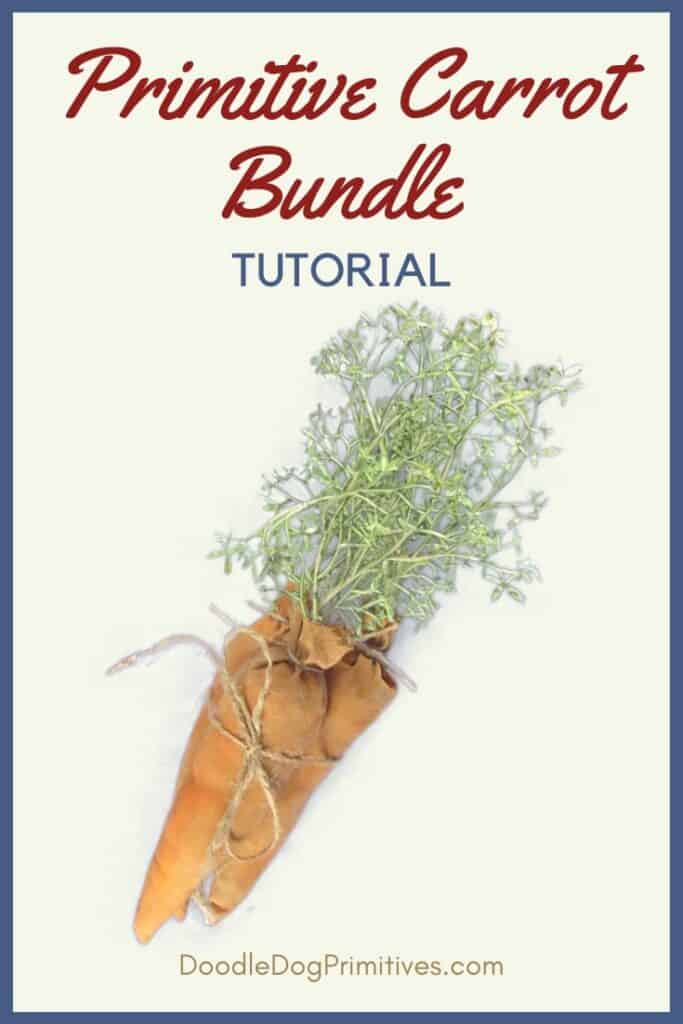 Primitive Carrot Bundle Tutorial