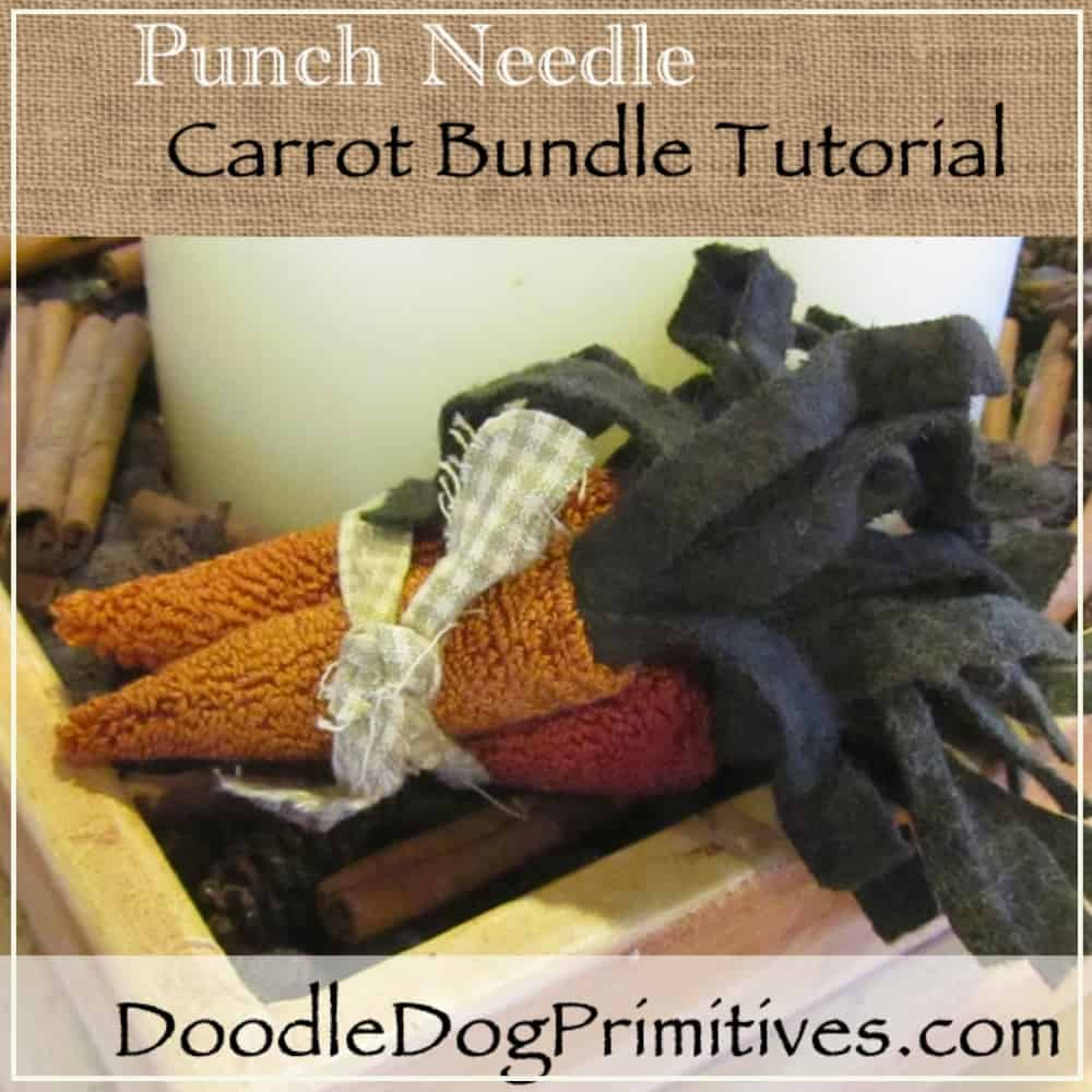 carrot punch needle