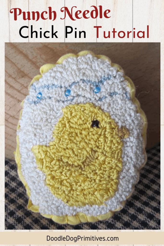 chick pin tutorial