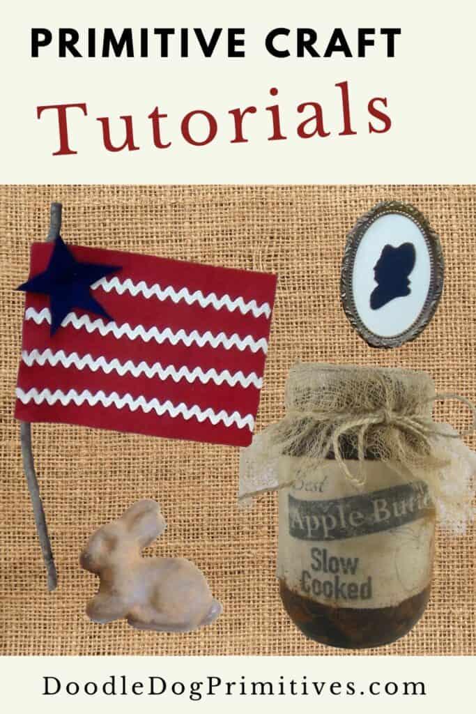 primitive craft tutorials