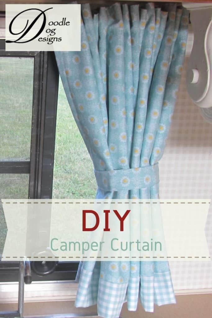 DIY Camper Curtain