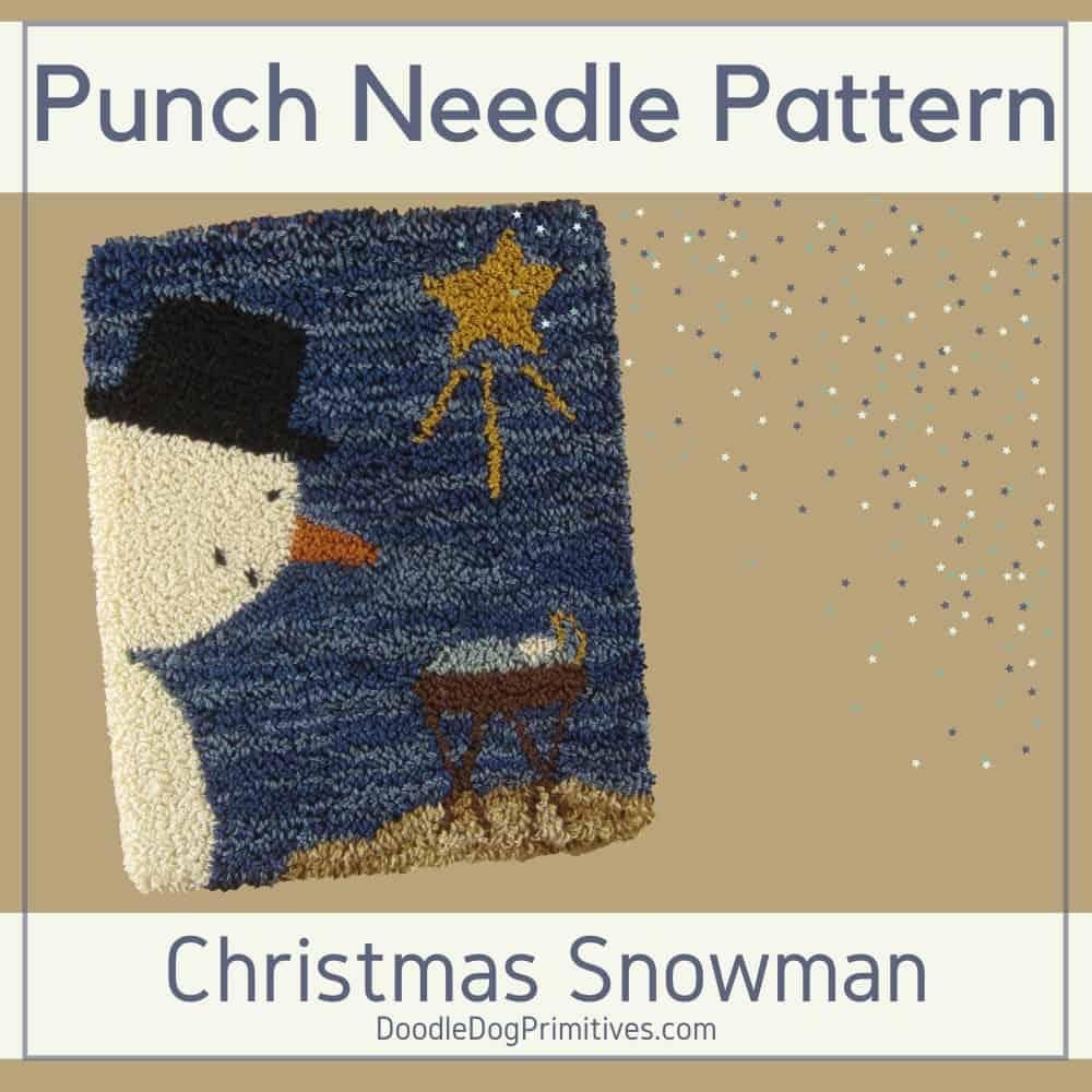 Christmas Punch Needle Pattern