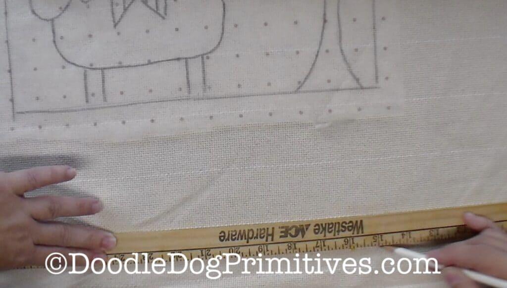draw pencil line