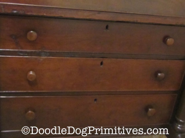 Restored drawers