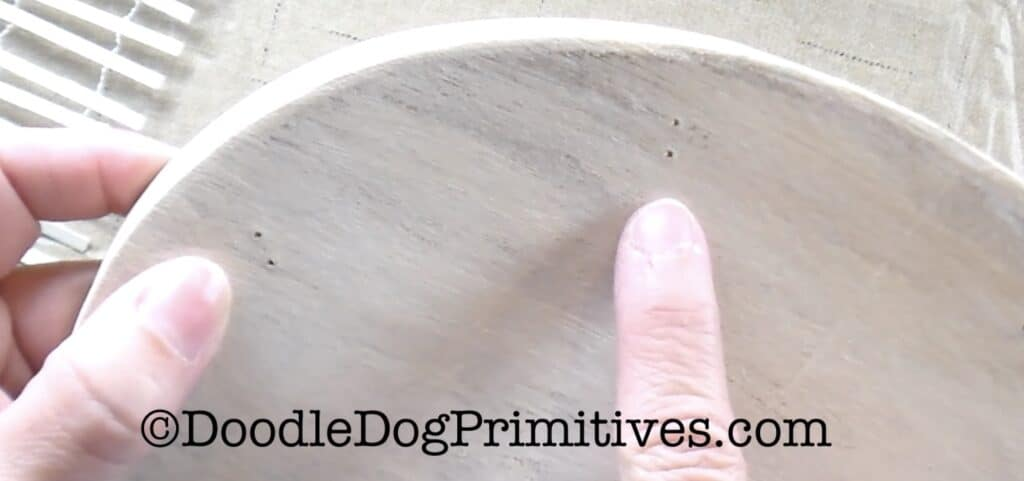 drill holes lid