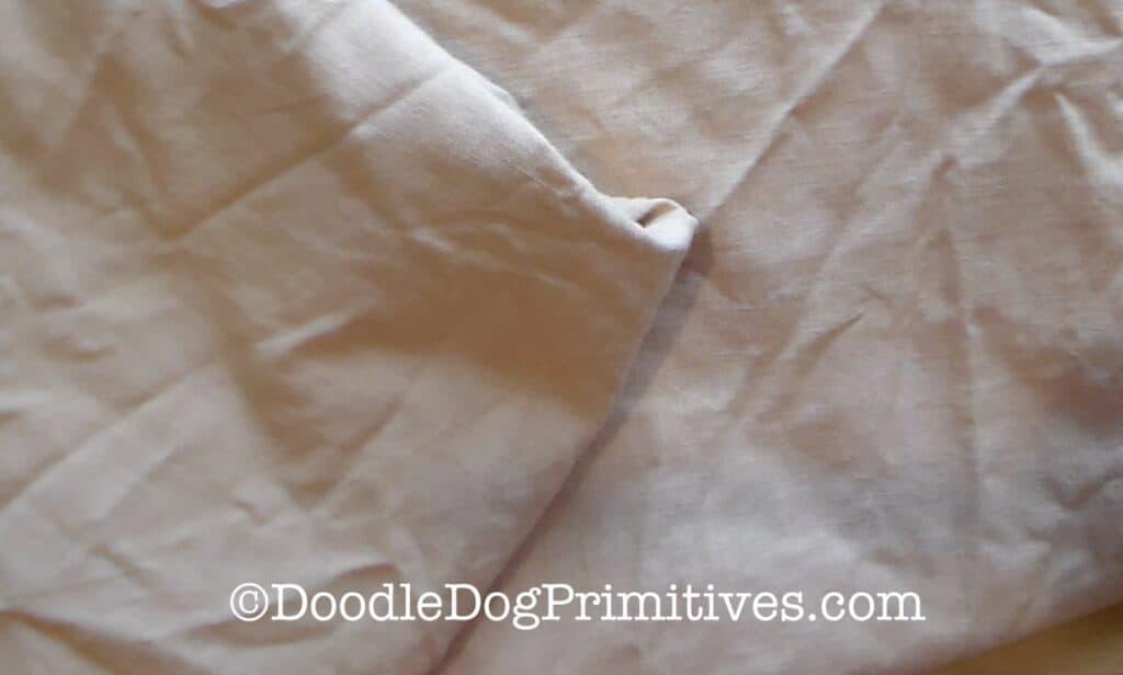 dried weavers cloth