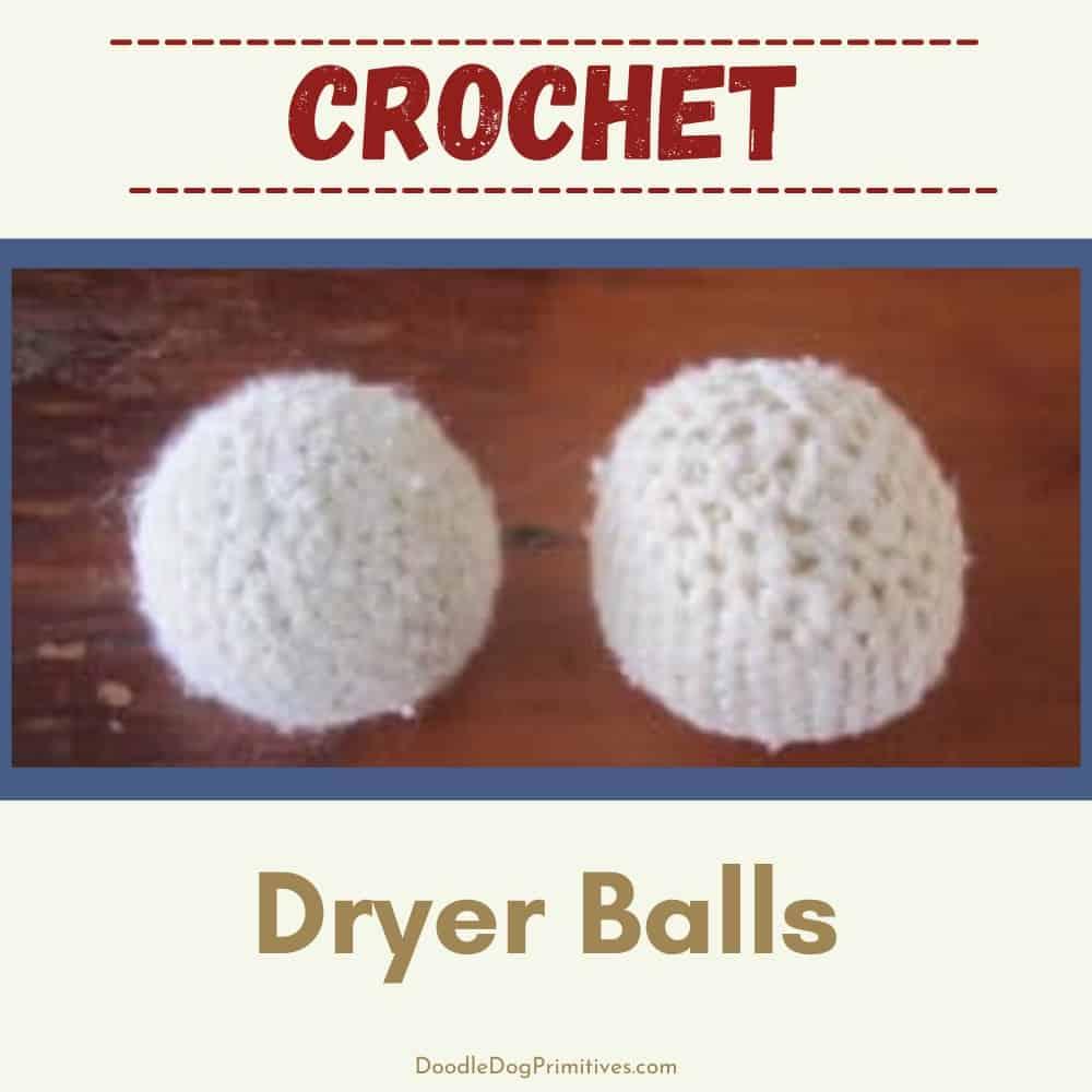 crochet dryer balls