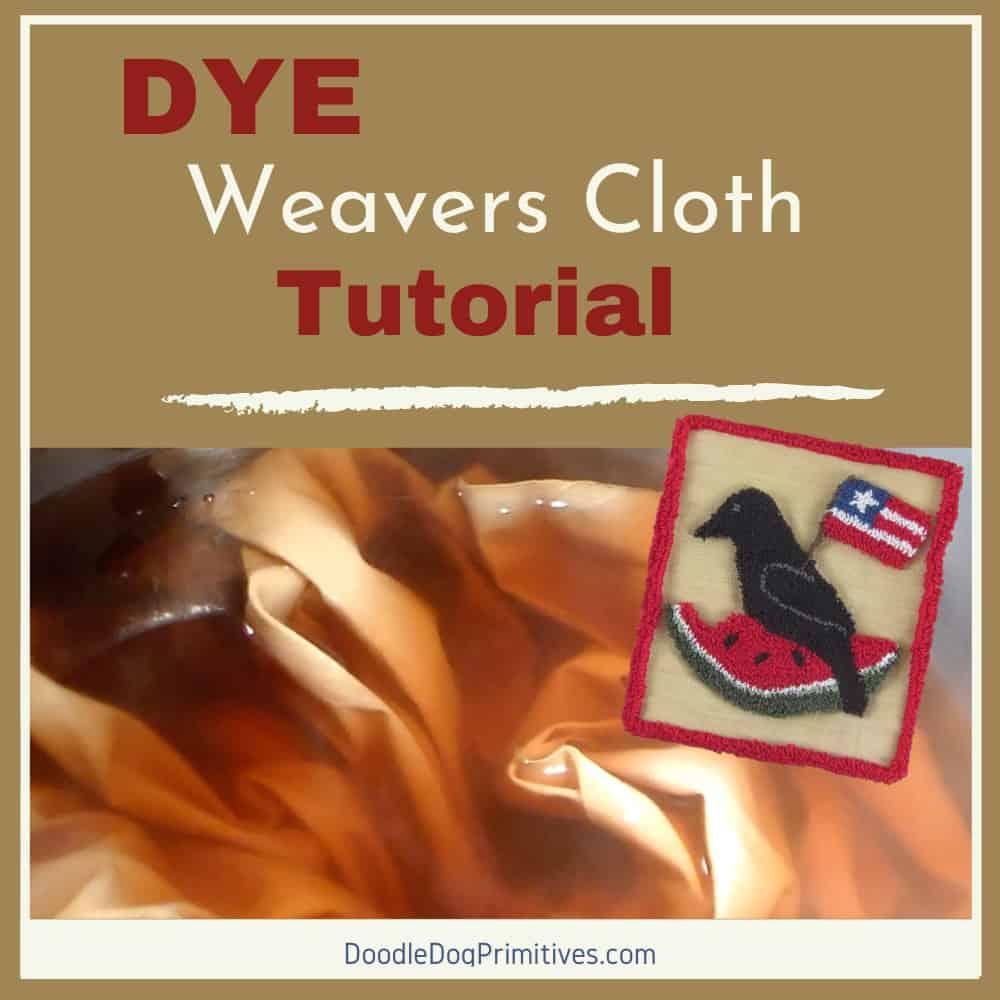 Dye Weavers Cloth