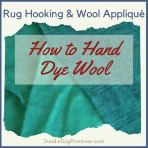 DIY: How to Hand Dye Wool