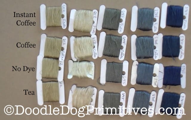 Dyed Embroidery Floss